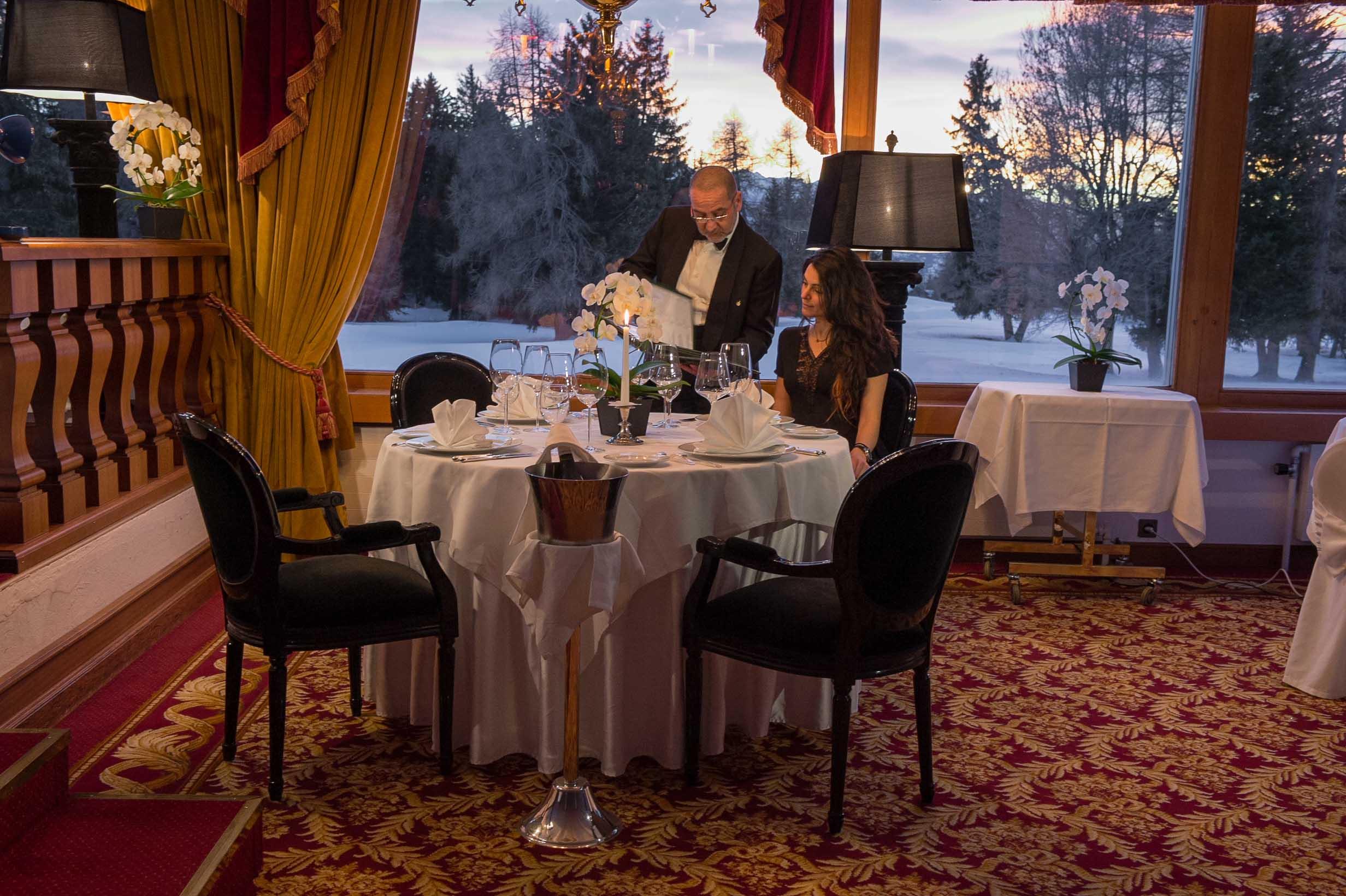 Restaurant Le Relais  U2014 Grand H U00f4tel Du Golf  U0026 Palace  U00e0 Crans